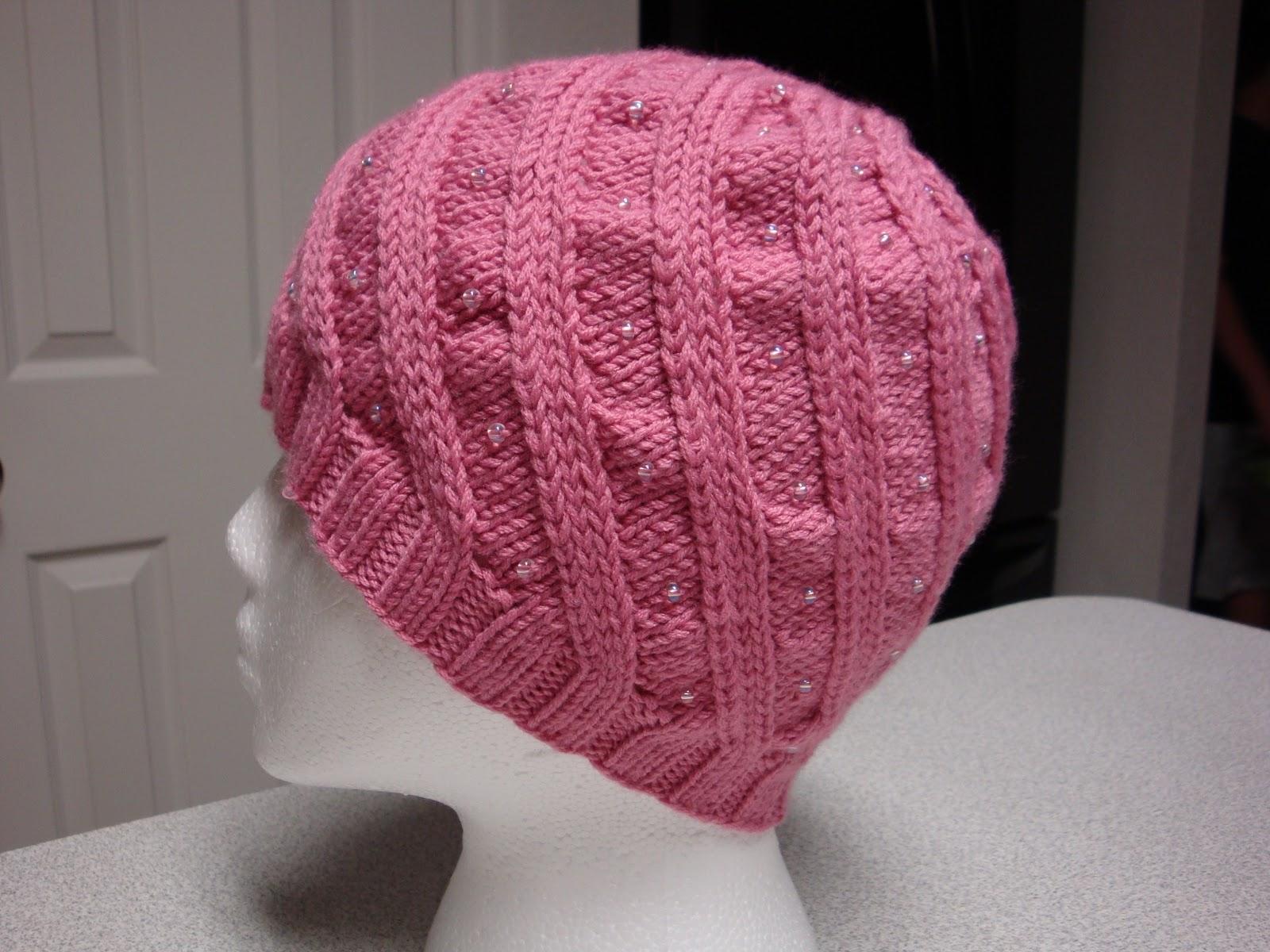 Kim\'s Knitting Korner: Chemo Cap #8