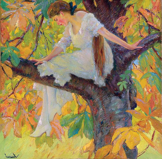 Edward Cucuel - Wood Nymph