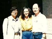 Mariangeles Sánchez Benimeli, Kzuhito ban Osawa y Tadakastu Muto