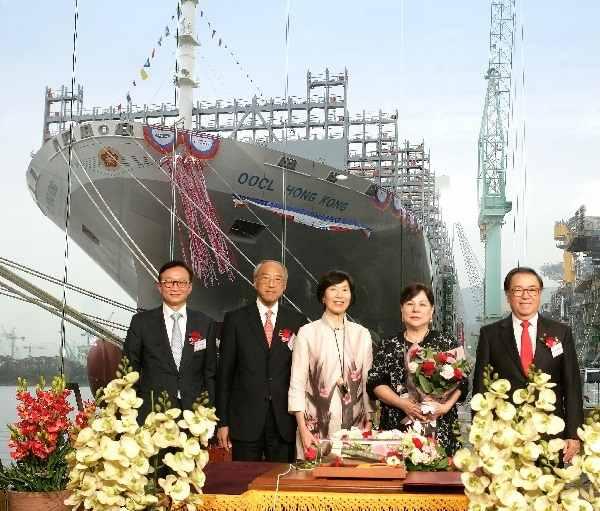 OOCL Hong Kong Trở Thành Tàu Container Lớn Nhất Thế Giới