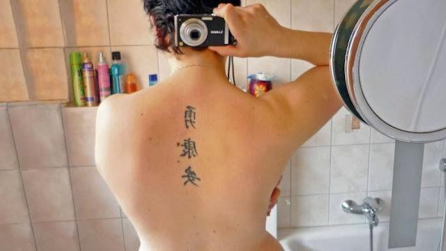 ブラジル人女性の背中に「鶏湯麺」とデタラメなタトゥーを彫ったタイ人の彫師を逮捕。※漢字タトゥーは人気だが間違いも多い