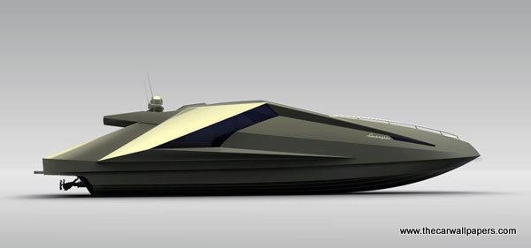 Lamborghini Yacht by Mauro Lecchi