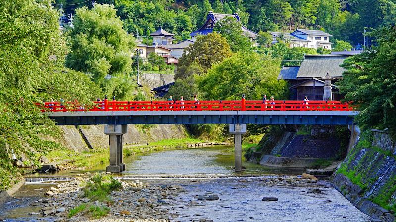 飛騨高山 筏橋 写真