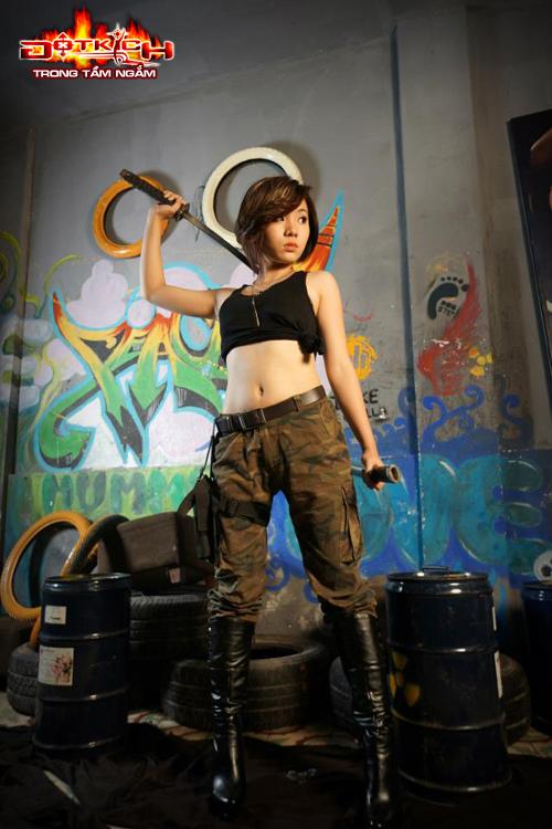 Nhóm Vật Cản ra mắt cosplay mừng sinh nhật Đột Kích 8