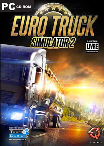 Euro Truck Simulator 2 PC - Torrent + Crack (2014) Completo