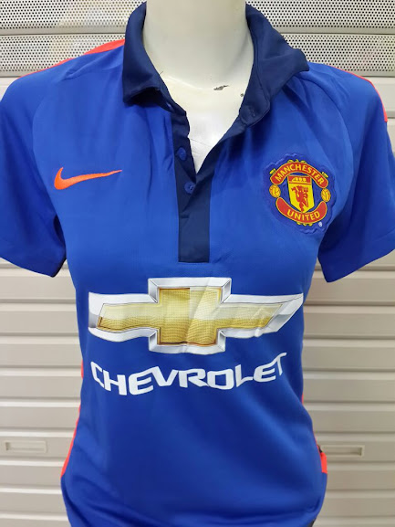 Jual Jersey Ladies Manchester United 3rd 2014-2015