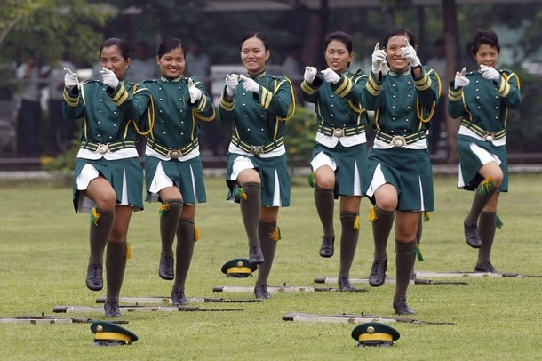 Philippine Armed Forces Military Women