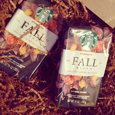 Cozying Up to Starbucks Fall Blend