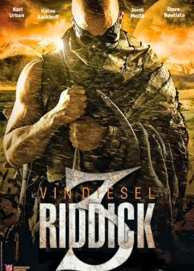 Filme Poster Riddick 3 TS XviD & RMVB Dublado