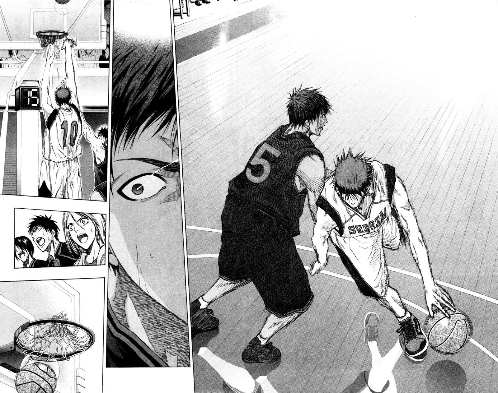 Kuroko no Basket Manga Chapter 136 - Image 16-17