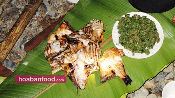 Cá suối nướng Pa Pỉnh Tộp