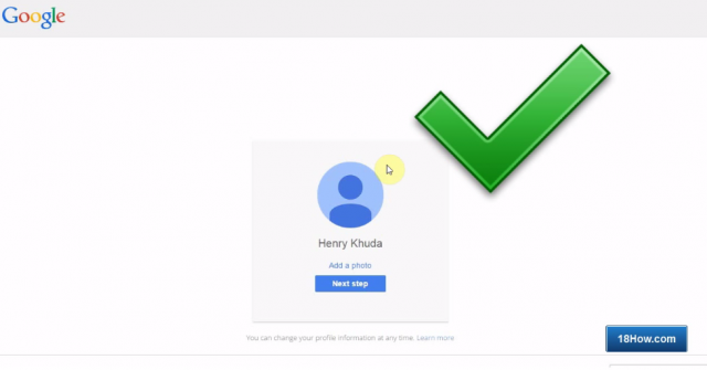 register google account complated without phone number verification