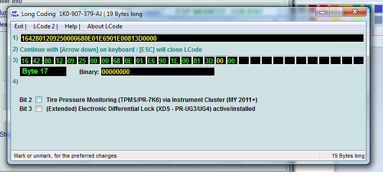 TPMS - A3 2012 - Coding Issues? VCDS users please check