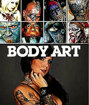 BODY ART BOOK REVIEW  Sick Chirpse