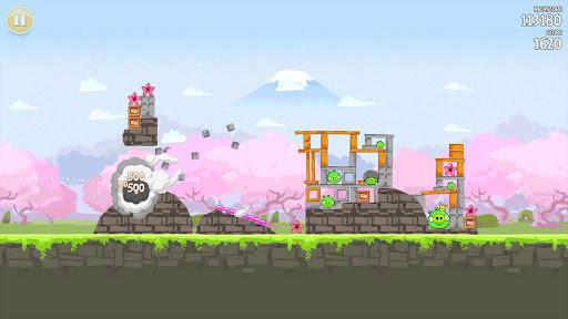 櫻花樹下,依舊生氣的《Angry Birds》