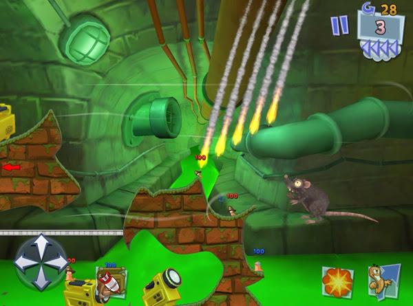 Team17 xác nhận sẽ có Worms 3 cho thiết bị iOS 3