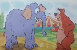 El oso y el elefante