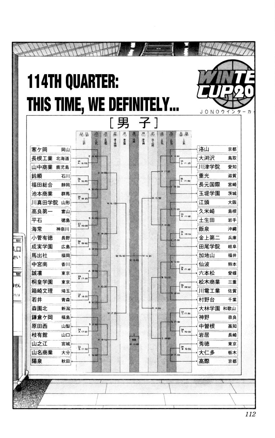 Kuroko no Basket Manga Chapter 114 - Image 06