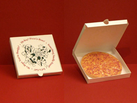 Walt Disney World Pizza Papercraft