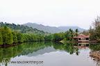 Lagoon behind Klong Prao Resort