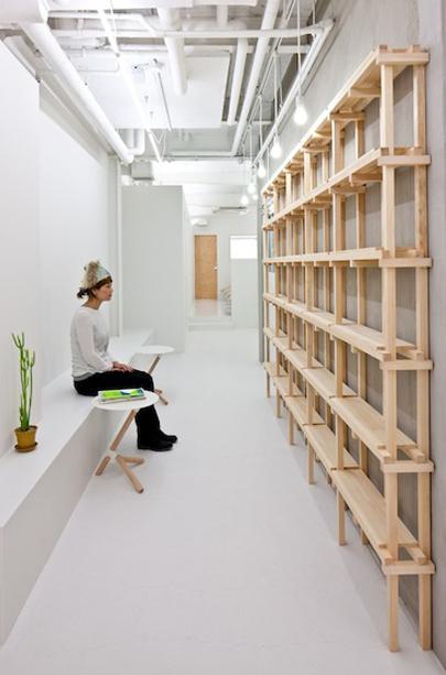 # end...Link 空間連結:Yasunari Tsukada在日本大阪的簡約木框架沙龍! 7