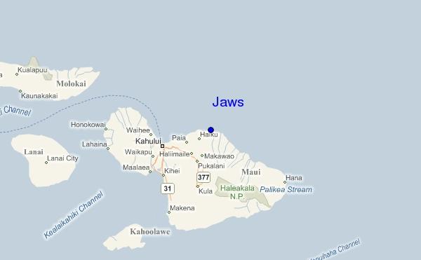 map of peahi maui images
