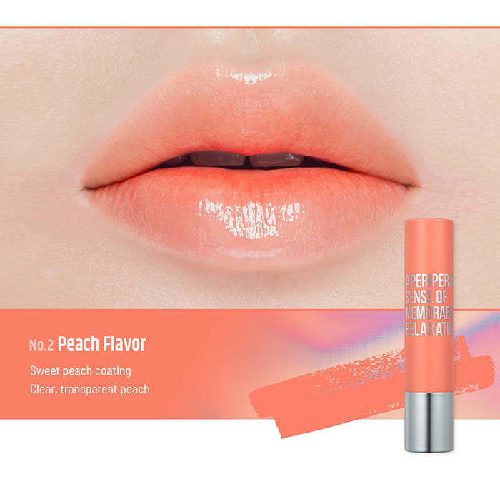 Son PERIPERA Sugar Candy Tint Stick Peach flavor