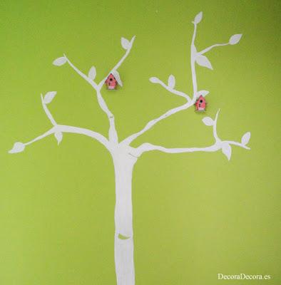 Pintar un árbol.