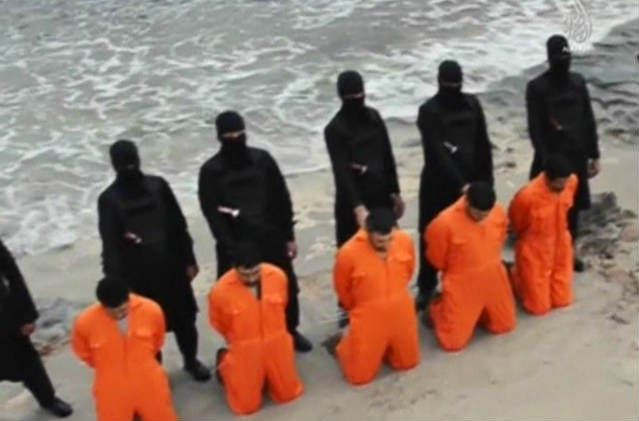 On the beheading of Christians by Muslim terrorists