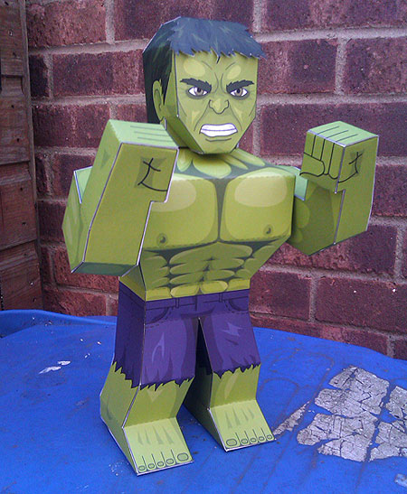 The Hulk Papercraft