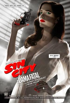 Filme Poster Sin City 2: A Dama Fatal HDRip XviD Dual Audio & RMVB Dublado