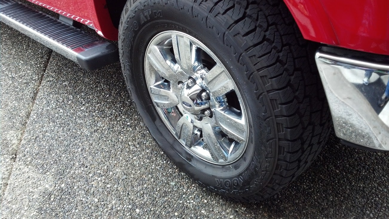 Anyone running Hankook Dynapro ATM RF10's? - Page 2 ...