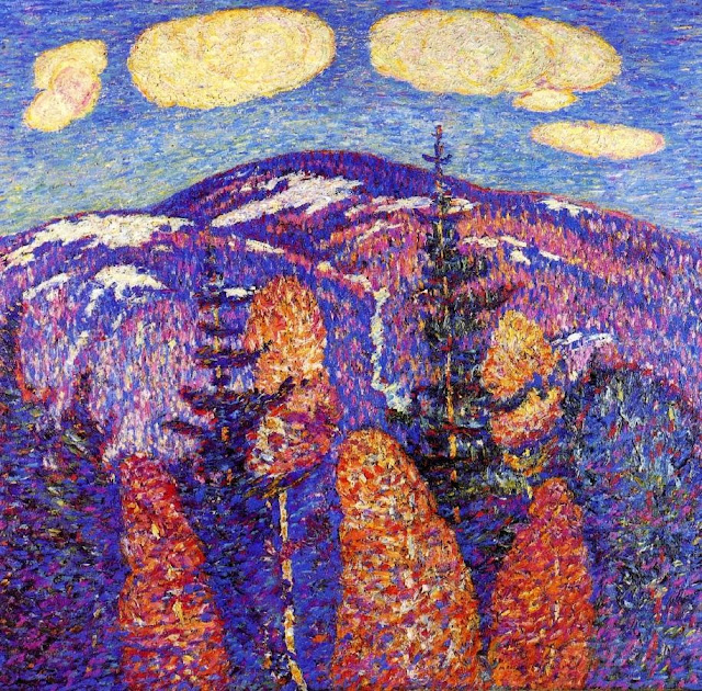 Marsden Hartley - Cosmos The Mountains