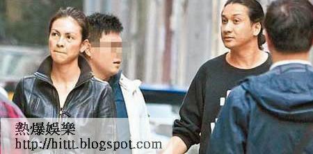 Rosemary與男友Jason在地產經紀陪同下現身大坑街頭,三人不時東張西望睇舖。