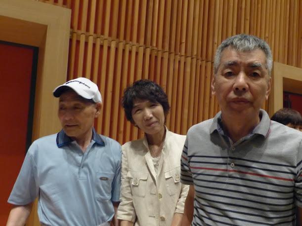 内海久美子先生、信治さん、飯田さん
