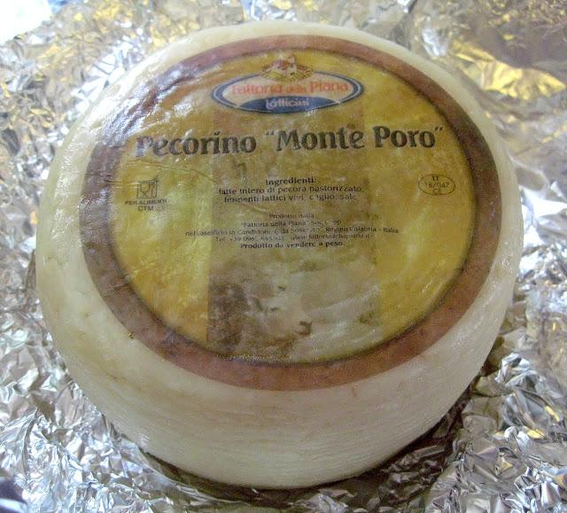 "Pecorino ""Monte Poro"" Aged Sheep's Milk Cheese from Calabria"