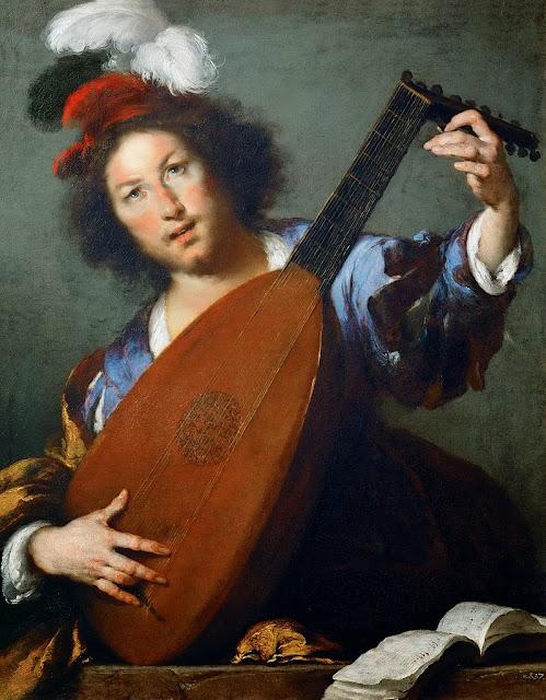 Bernardo Strozzi - Lute Player