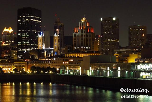 Montreal - fotografie de noapte