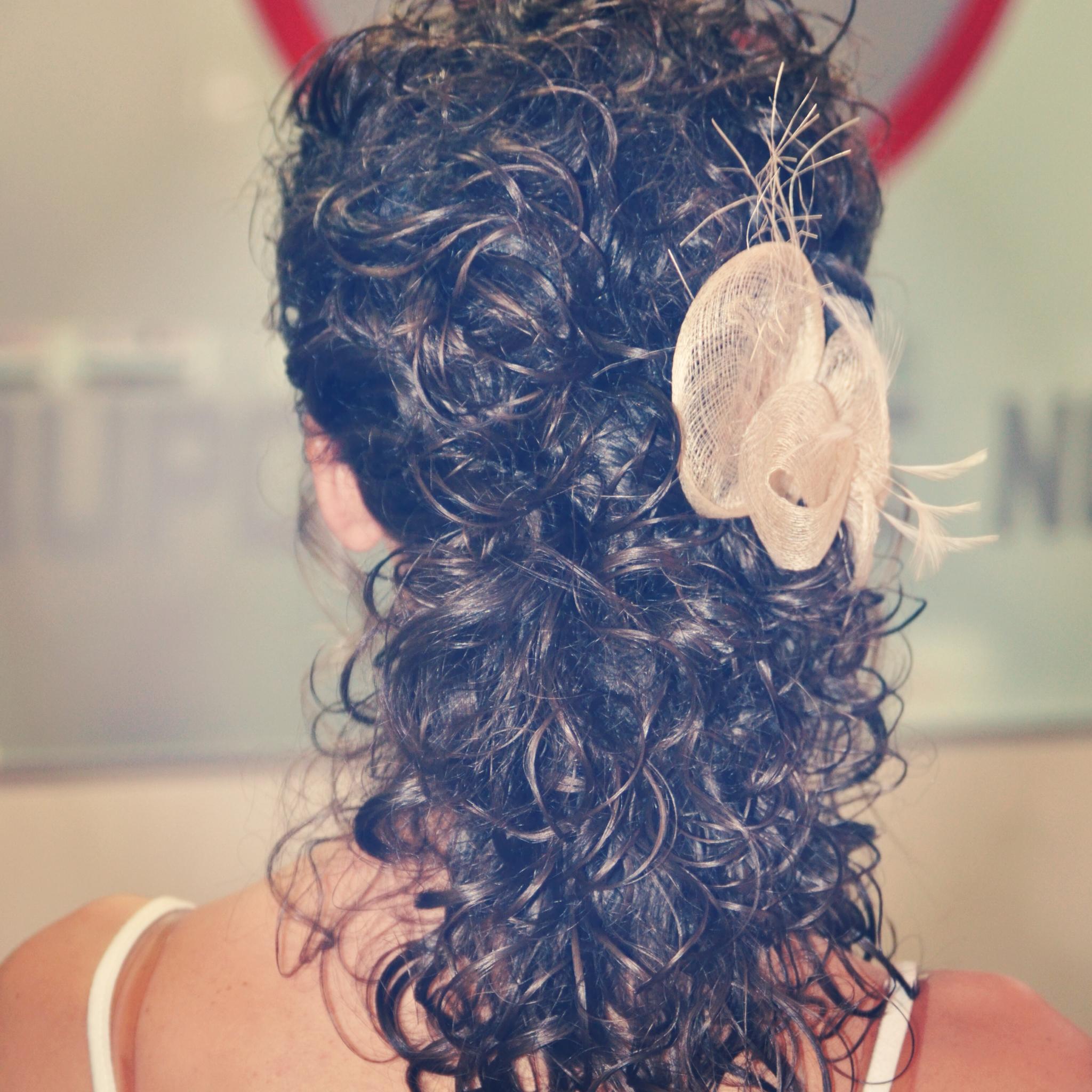 este tipo de peinados yo los denomino recogidos al aire los llamo as porque apenas llevan horquillas es la propia ondulacin la que da la forma y gracia