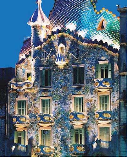 """Gaudí, Casa Batlló"""" width="""