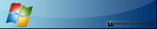 Windows banner