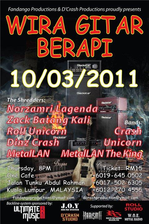 Event Wira Gitar Berapi