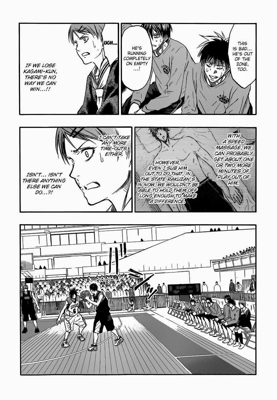 Kuroko no Basket Manga Chapter 269 - Image 02