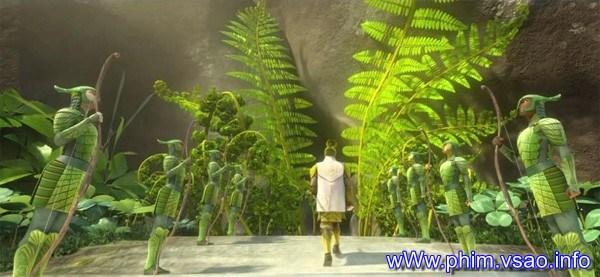 TRẬN HÙNG CHIẾN XỨ SỞ LÁ CÂY (Epic 3D - 2013)