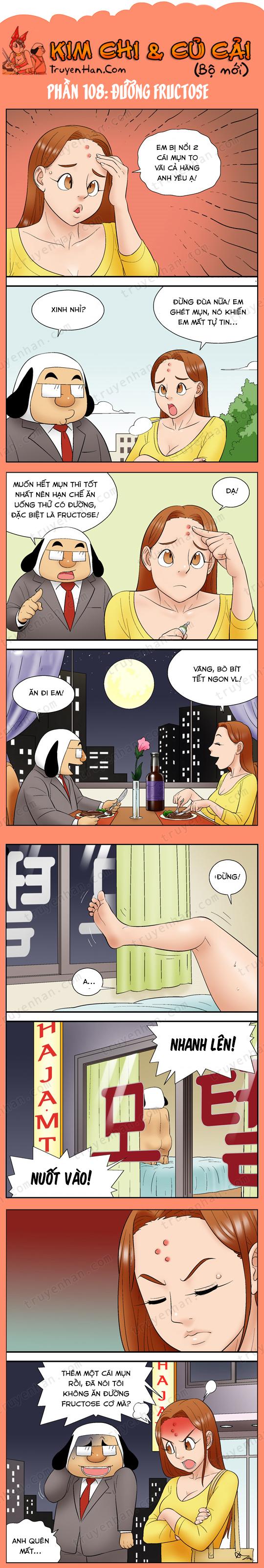 Kim Chi & Củ Cải (bộ mới) phần 108: Đường Fructose