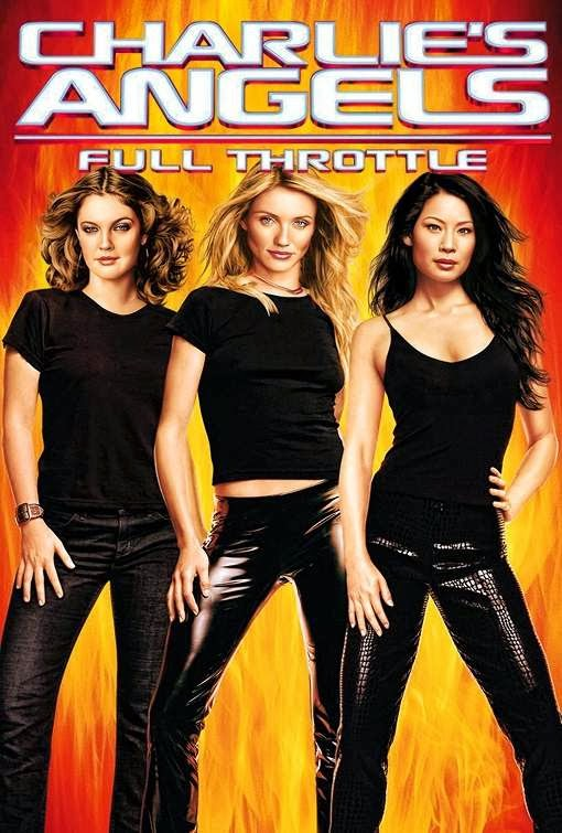 Poster Of Charlie's Angels: Full Throttle (2003) Full Movie Hindi Dubbed Free Download Watch Online At Alldownloads4u.Com