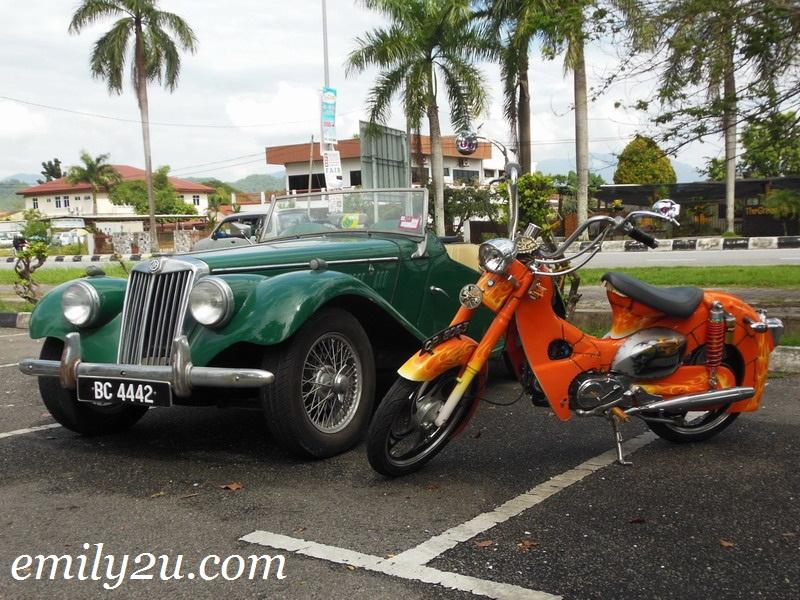 vintage car MG Sports