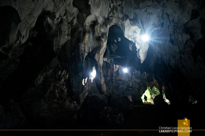 Stalactites at Hoyop-Hoyopan Cave in Camalig, Albay