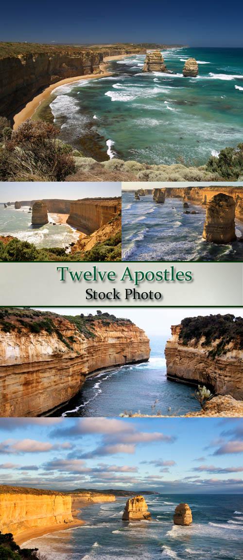 Stock Photo: Twelve apostles 2