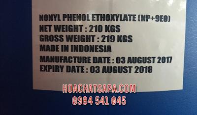 Nonyl Phenol Ethoxylate (NP+9EO) | Tergitol TM NP-9 Surfactant | NP9